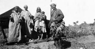 Maroc, années 1930, hunting back