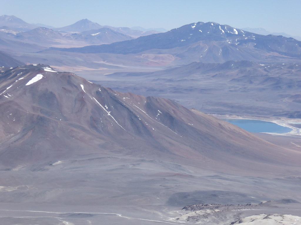 Laguna Verde, Chile from Ojos del Salado