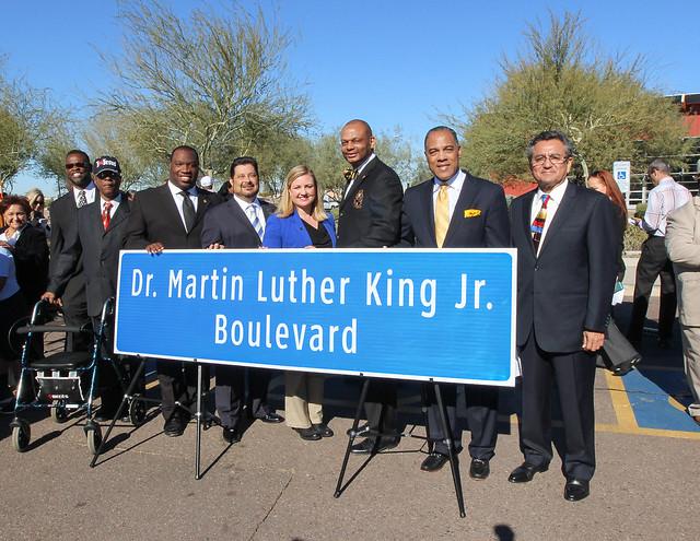 MLK Blvd Unveiling - Phoenix