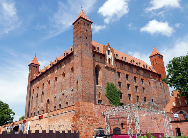 The majestic castle of Gniew
