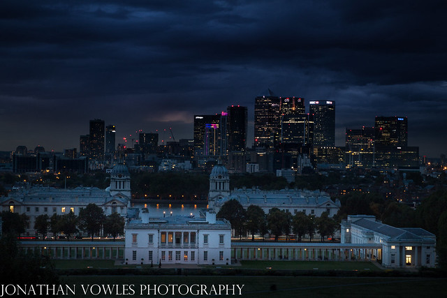 Queens House from Greenwich Royal park