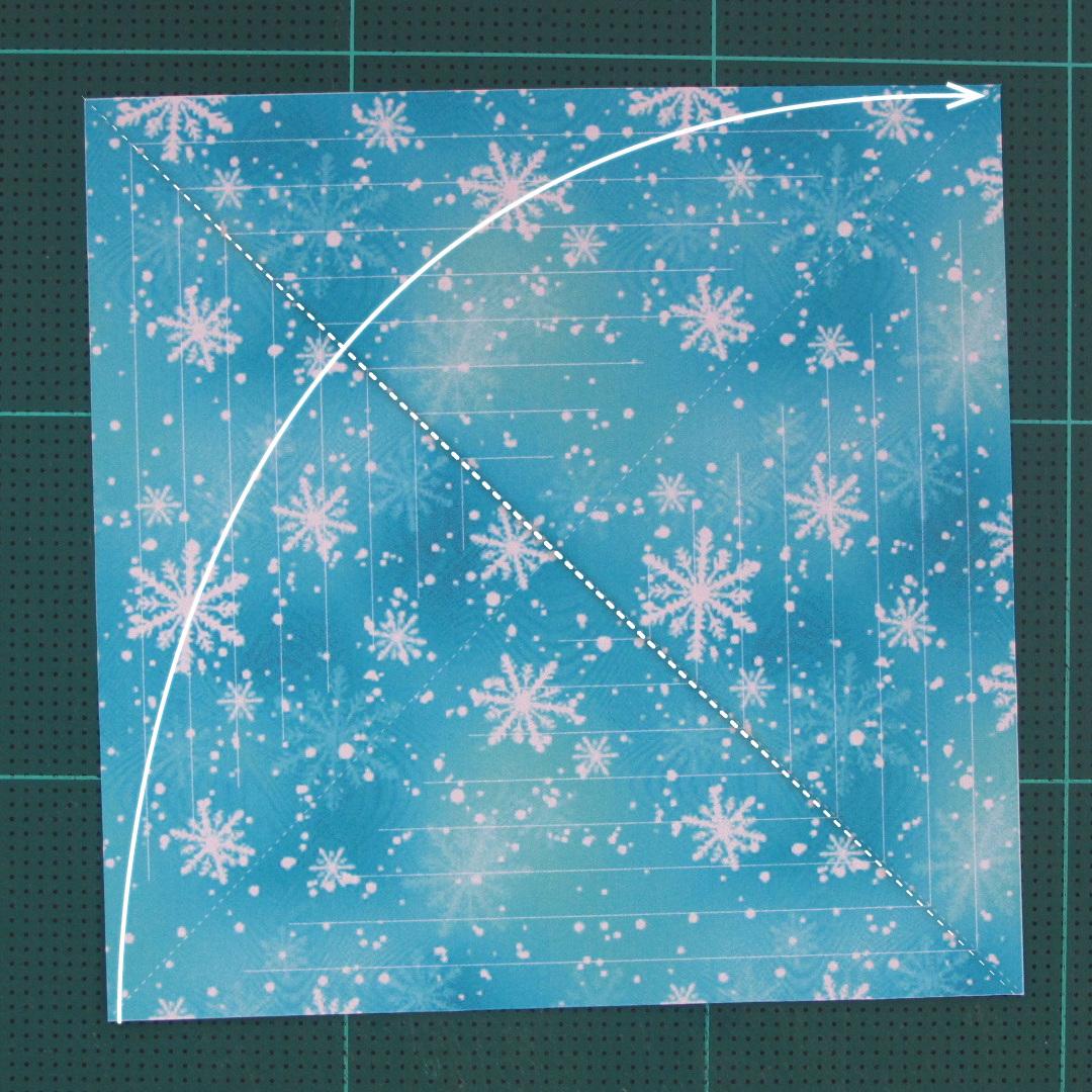 วิธีทำดาวกระดาษรุปเกล็ดหิมะ สำหรับแต่งบ้าน ช่วงเทศกาลต่างๆ (Paper Snowflake DIY) 001