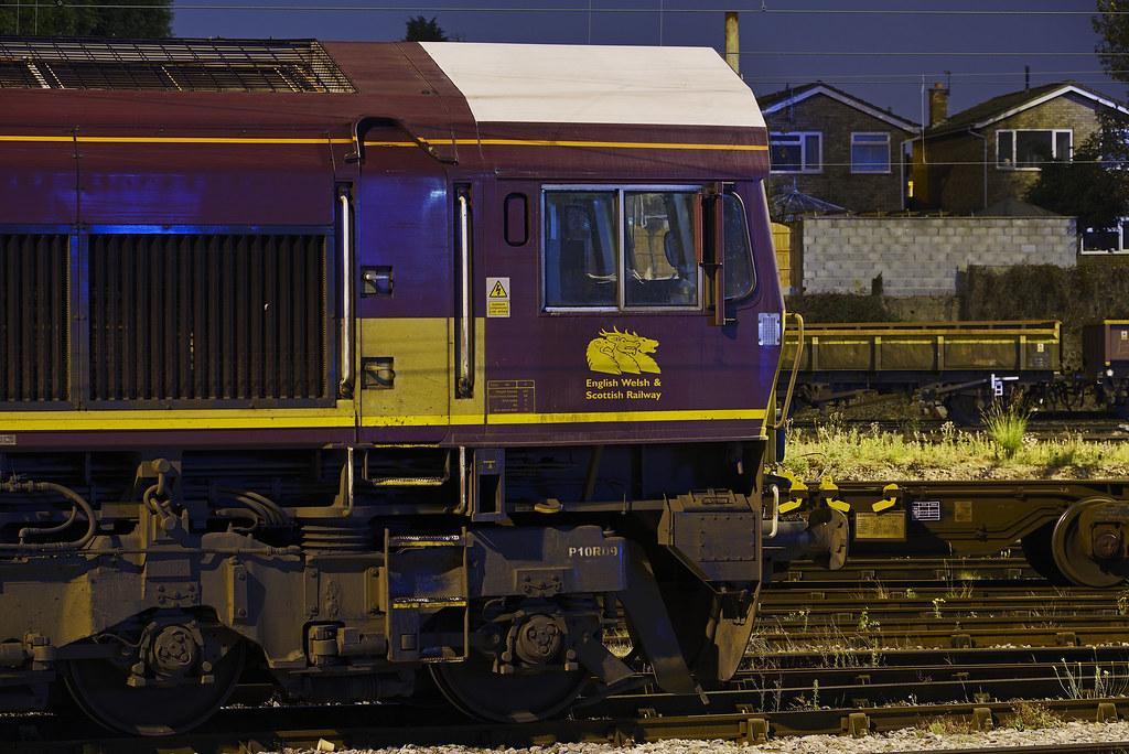 EWS 66177, Bescot, Walsall 28/09/2014