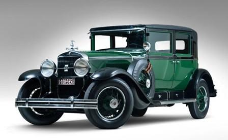Cadillac de Al Capone utilizado por Roosevelt