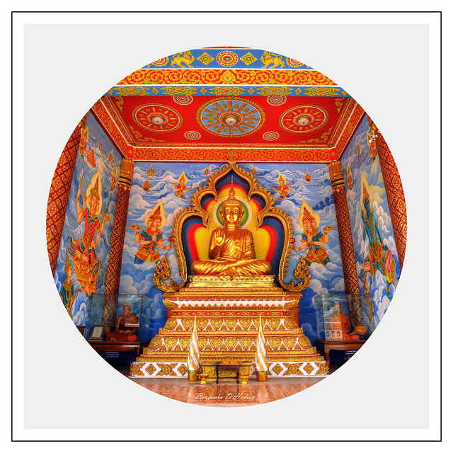 Old Shrine Wat Complex, Vientiane Laos. (Circle)