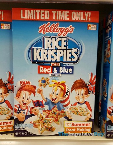 Limited Time Only Kellogg's Rice Krispies with Red & Blue Krispies Cereal | by theimpulsivebuy