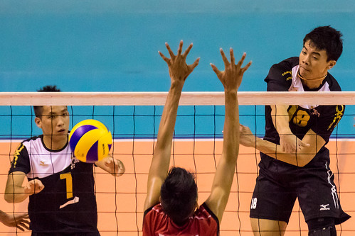 17th ASEAN University Games : Volleyball (M) - Singapore vs Indonesia | by VOXSPORTSdotNET
