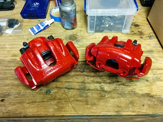 Rebuilding the brake calipers | by peter*g