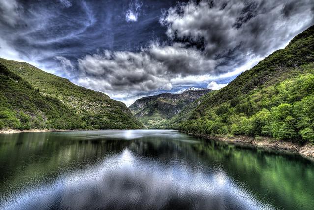 View of the Lago di Vogorno - Switzerland