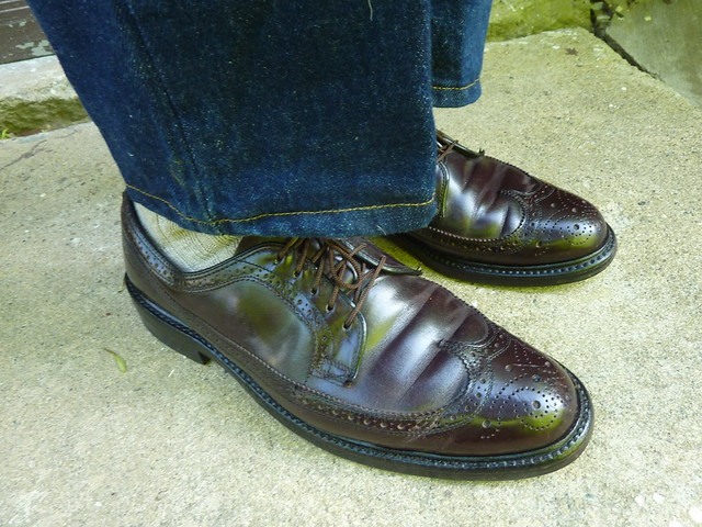 Unknown Maker Cordovan Longwing Brogues