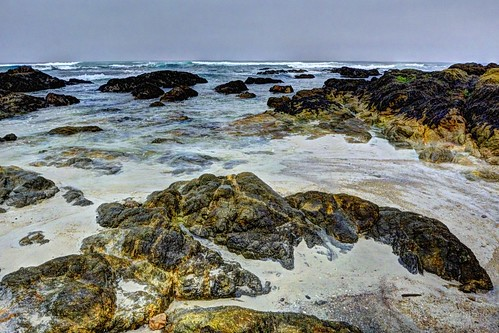 asilomarstatebeach tidepool rocks sand beach waves pacificocean pacificgrove montereypeninsula montereybay california water waterpictorial joelach