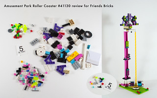 Set Review for Friends Bricks: 41130 Roller Coaster-18 | by fujiia.reviews