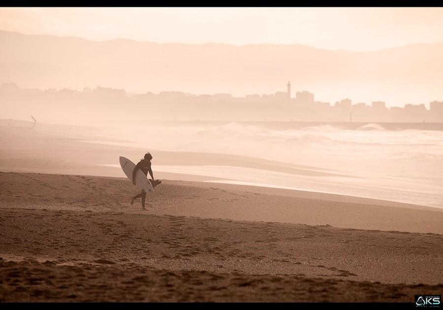 The basque coast