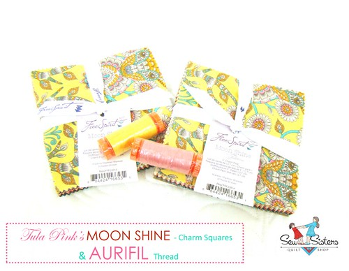 Blogathon Giveaway Moon Shine aurifil Kelsey 1000 | by Kelsey @ Everyday Fray Blog