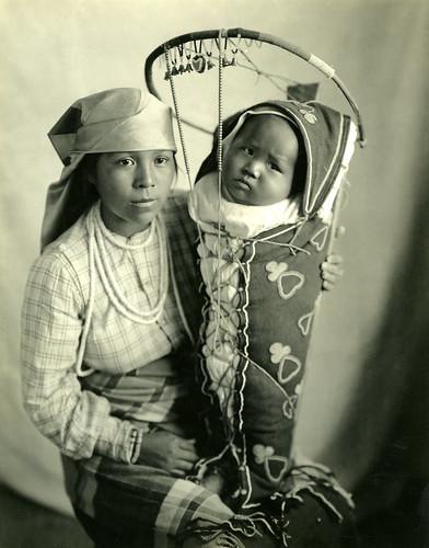 Ida Plamer Walulutum and Baby