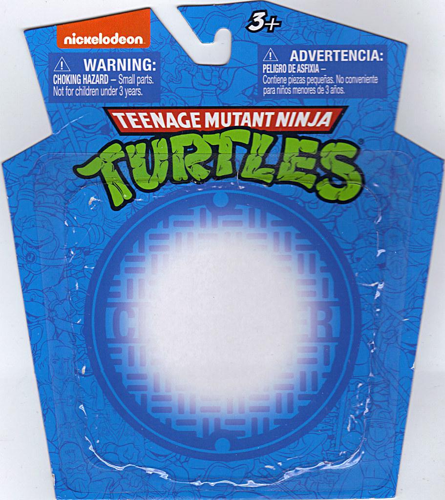 MONOGRAM INTERNATIONAL :: TEENAGE MUTANT NINJA TURTLES; COLLECTIBLE FIGURINES v / LEONARDO ..card backer (( 2014 )) by tOkKa