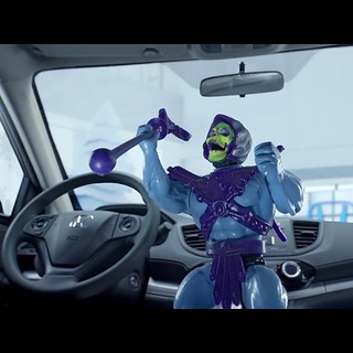 #skeletor on a Honda commercial.  Have you seen it on TV ? | by SacredKnightOfTomorrow