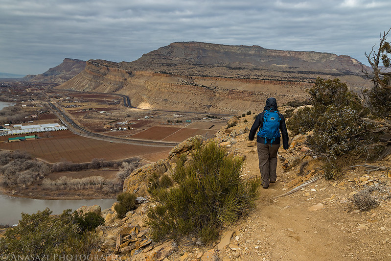 Hiking Down