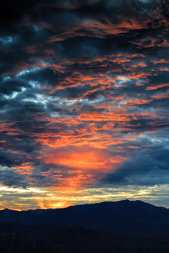 sunset red sky cloud sun mountain unitedstates northcarolina sunsetandsunrises