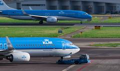 KLM PH-BXR & KLM PH-BGB.
