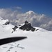 Vol JU52 Au retour le Jungfraujoch au fond