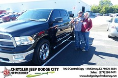 Dodge City McKinney Texas Chrysler Jeep Dodge Ram SRT Dallas Dealer Testimonials Customer Reviews -Jason Bova