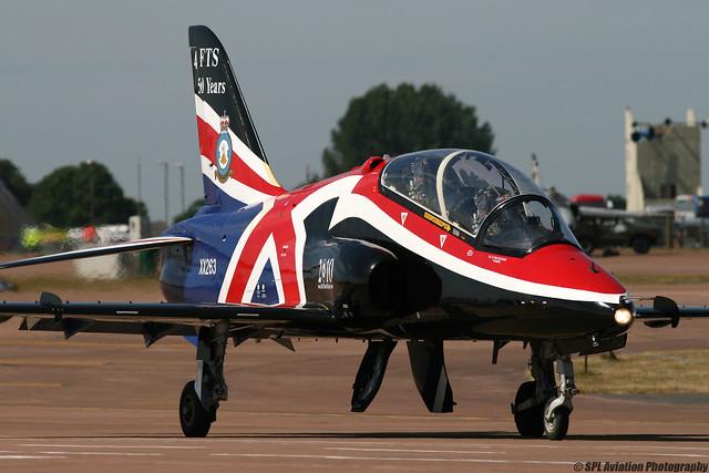 Royal International Air Tattoo 2010 - BAe Systems Hawk T1 - Royal Air Force - XX263