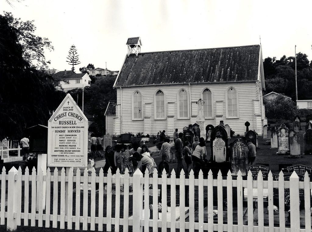 Kororāreka (Russell) Church, Bay of Islands   After arriving…   Flickr