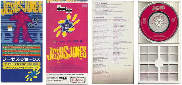 Jesus Jones Starting From Scratch - Japan