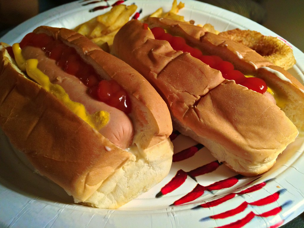 Top Sliced Hot Dog Buns Why Haven T They Always Been Cut Flickr