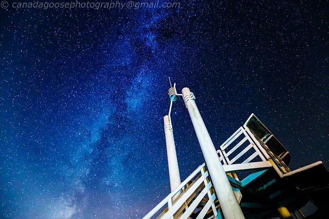 Lookout Tower and Milky Way