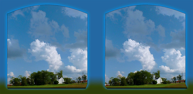 Cloud Hyper 2 - Cross-eye 3D