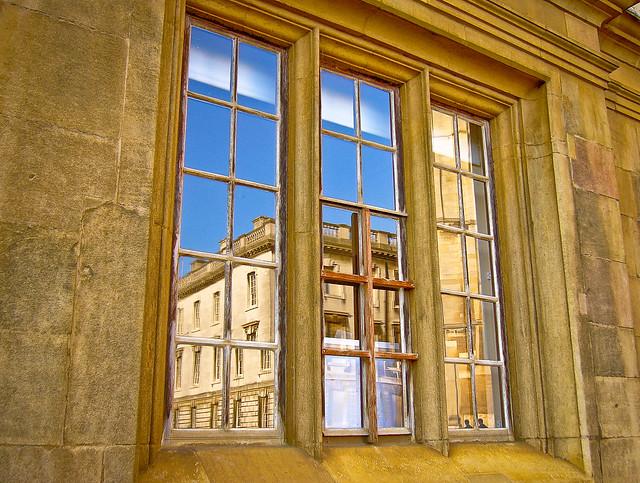 Window on Cambridge