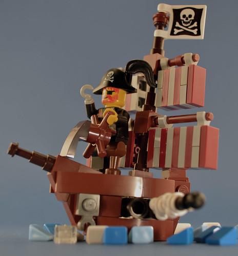 Chibi LEGO Pirate Ship