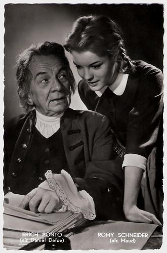 Erich Ponto and Romy Schneider in Robinson soll nicht sterben (1957)