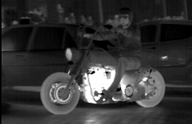 White hot bike