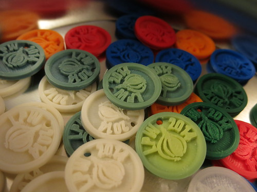 LPW 2014 tokens, colours | by Jess Robinson