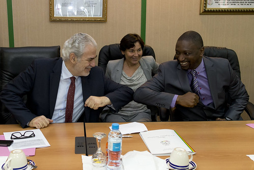 At the epicentre of Ebola: Commissioner Stylianides visits Sierra Leone, Liberia and Guinea