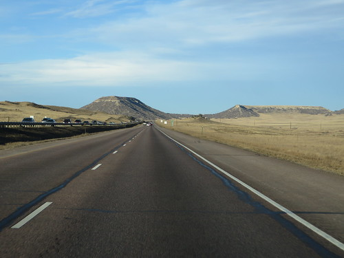 Interstate 25 Between Colorado Springs and Castle Rock, Colorado | by Ken Lund