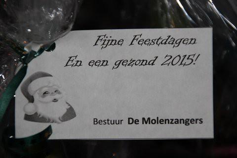 Kerstviering Molenzangers december 2014