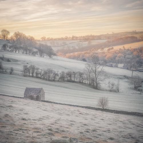uk morning winter ice nature beautiful sunrise landscape countryside frozen frost fuji gorgeous peakdistrict fujifilm serene dovedale xt1 18135mm