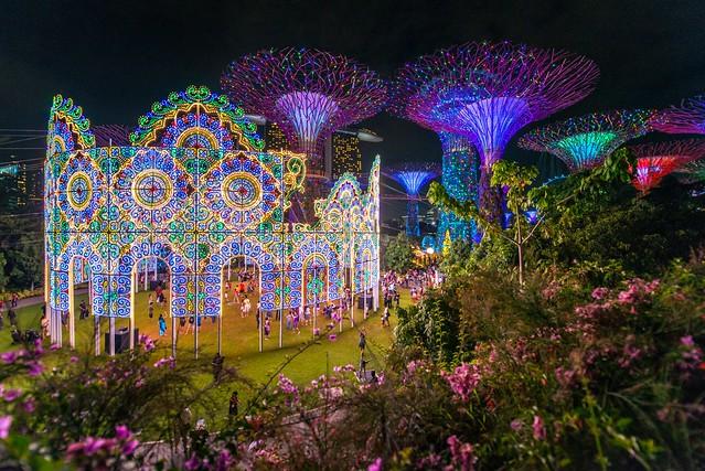 Christmas Wonderland @ Garden By The Bay Singapore