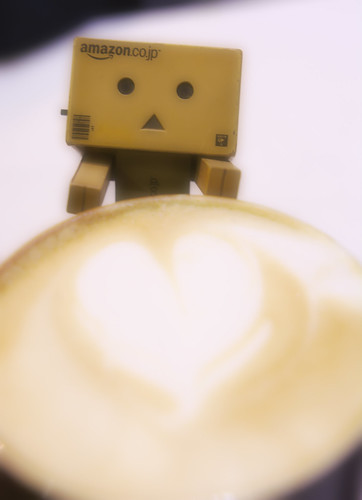 Danbo and cafe latte | by Takashi(aes256)