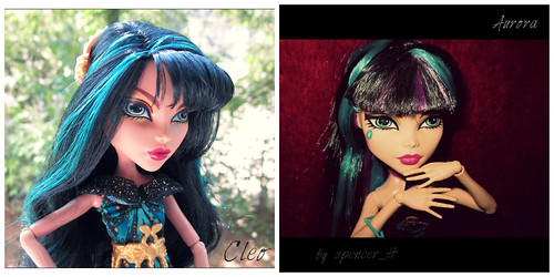Cleo and Aurora | by spencerH_dolls
