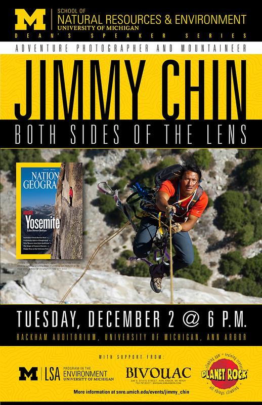 Jimmy Chin - National Geographic Photographer, Mountaineer & Skier