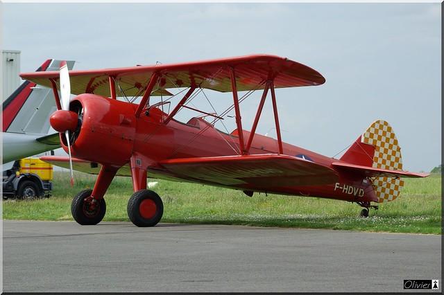 Boeing PT17 Stearman, F-HDVD