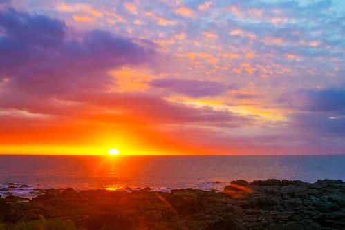 sky colours sunset dusk clouds albion rivièrenoire mauritius mu