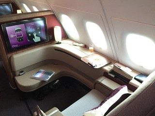 Qatar Airways A380 First Class | by Tips For Travellers
