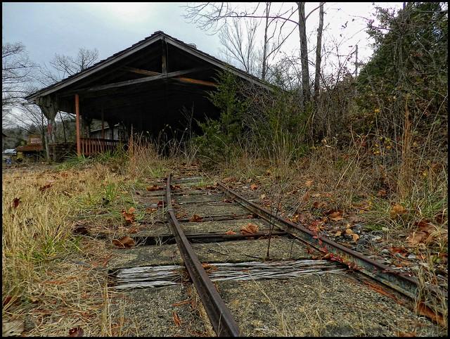 Dogpatch USA 12/2014 - Train Station
