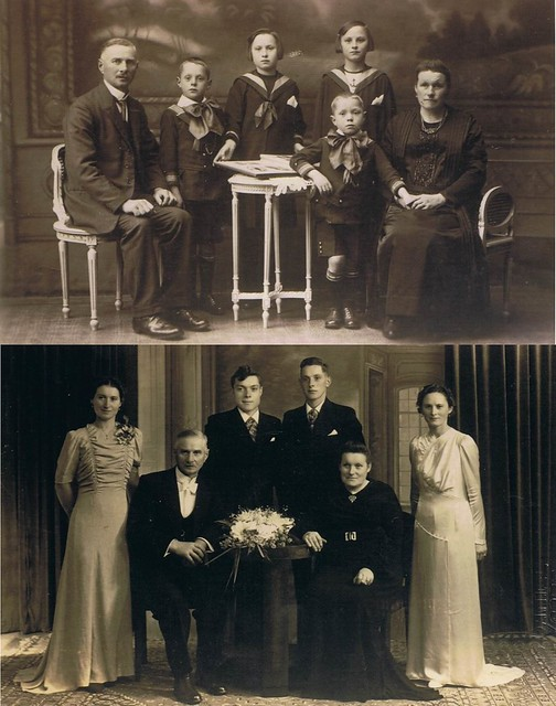 Old photograph of maternal relatives